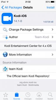 Install Kodi