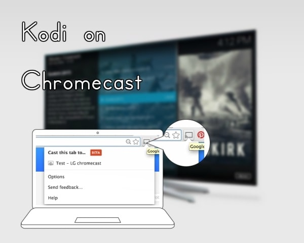 Kodi on Chromecast using PC